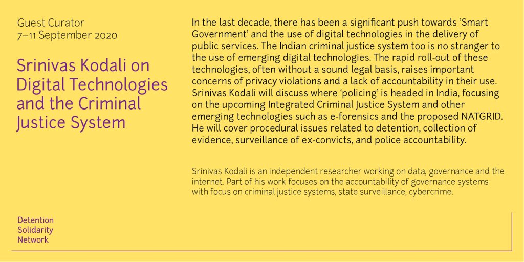 Digital Technologies and the Criminal Justice System – Twitter Curation